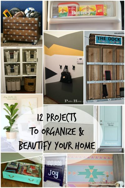 Projects to Organize and Beautify Your Home via Remodelaholic.com