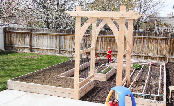 Beautiful Vegetable Garden Arbor DIY Plans (2 Of 5)