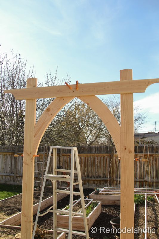 Vegetable Garden Arbor DIY Plans-36