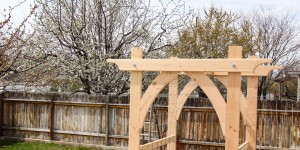 Vegetable Garden Arbor DIY Plans (5 of 5)