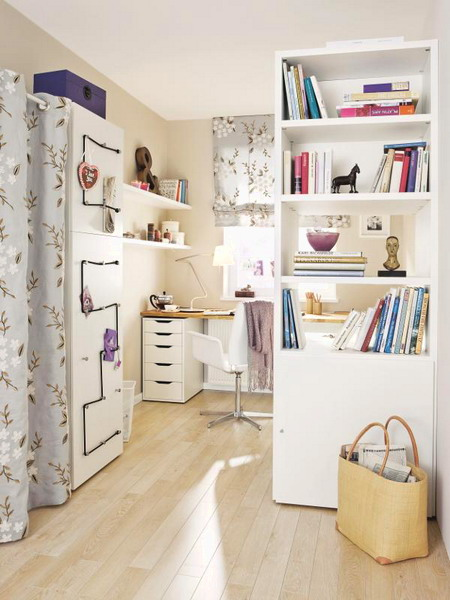 lovely home office storage ideas | Remodelaholic | Creating a Mom Cave: A Relaxing Space for Mom