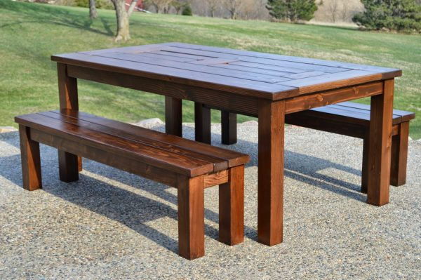 Build A Patio Table With Built In Drink Cooler Ice Boxes, Kruseu0027s Workshop  On
