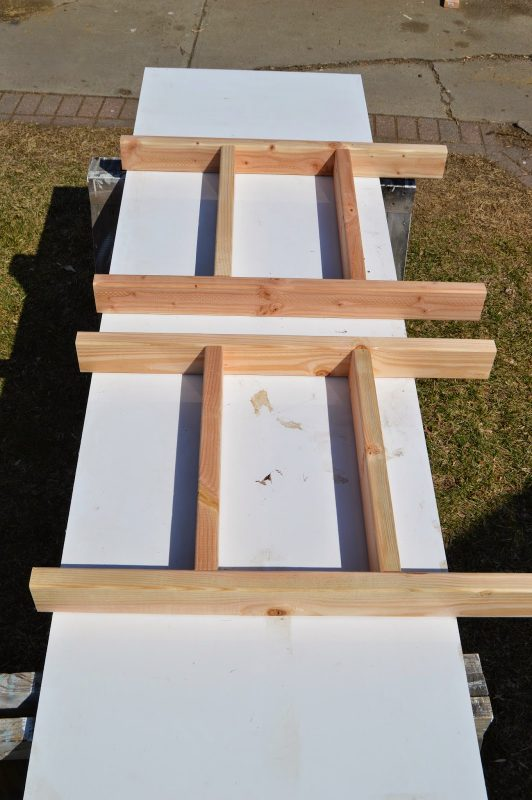 Build Patio Table Ice Box Frames, Kruseu0027s Workshop On Remodelaholic