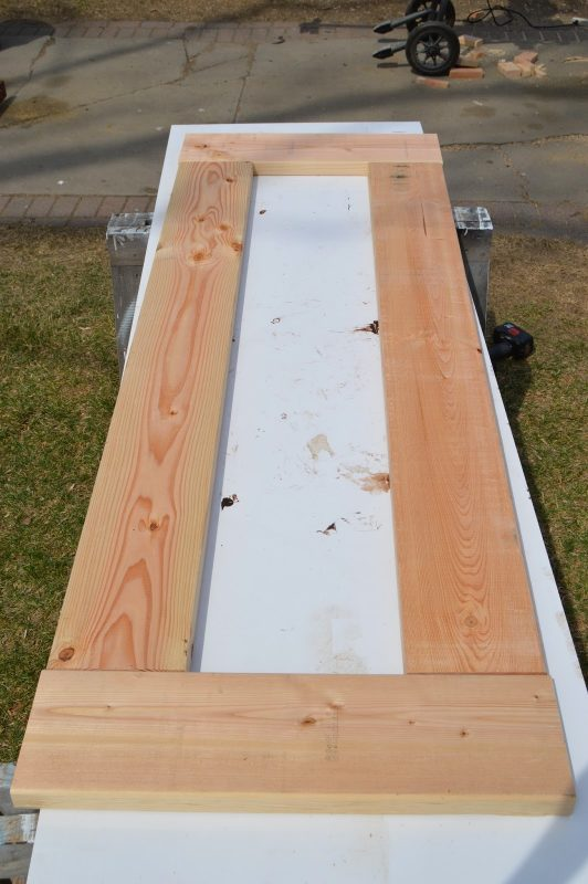 build patio table top with ice box 06, Kruse's Workshop on Remodelaholic
