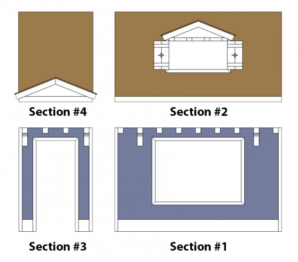 bunk bed playhouse sections