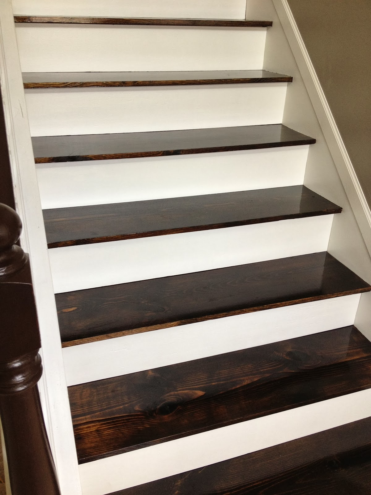 Turn Carpeted Stairs Into Hardwood Beauties For Just $60!    The Serene  Swede On