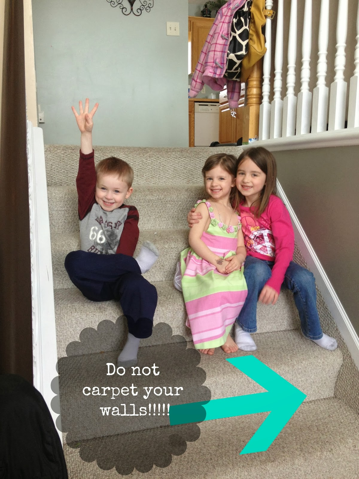 $60 Carpet To Hardwood Stair Remodel By Stacy Of The Serene Swede