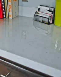 Diy Glossy Painted Countertops