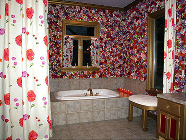 Remodelaholic Fun With Florals Incorporating Floral Patterns Into Modern Interior Design