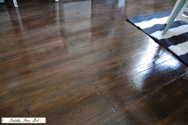 Amazing Faux Wood Plank Floor (4)