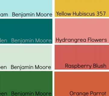 Tips for Using and Choosing Bold and Bright Paint Colors
