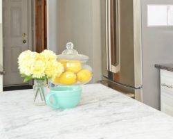 feature beautiful white kitchen renovation, Everyday Enchanting on Remodelaholic