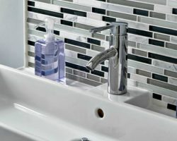 feature modern bathroom update, An Inviting Home on Remodelaholic