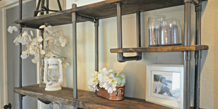 Remodelaholic Build A Budget Friendly Industrial Shelf