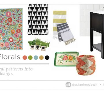 Fun with Florals – Incorporating floral patterns into modern interior design