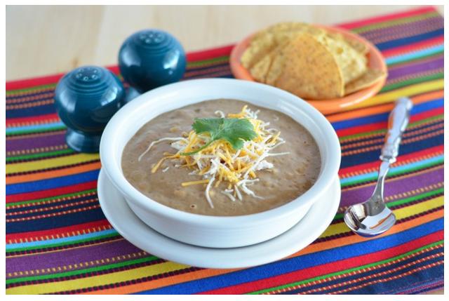 Creamy Blendtec Taco Soup Recipe