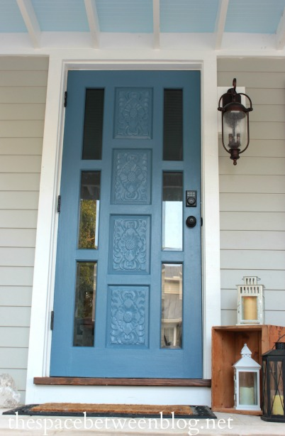 Remodelaholic budget friendly curb appeal ideas Curb appeal doors