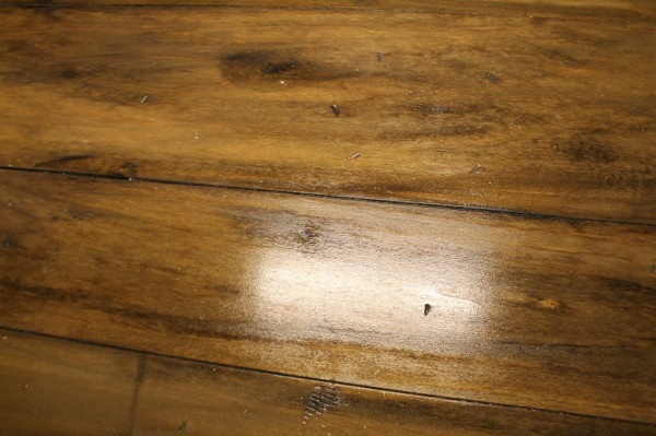 how to take the gloss off of waterlox sealed wood counter, The Ragged Wren on Remodelaholic