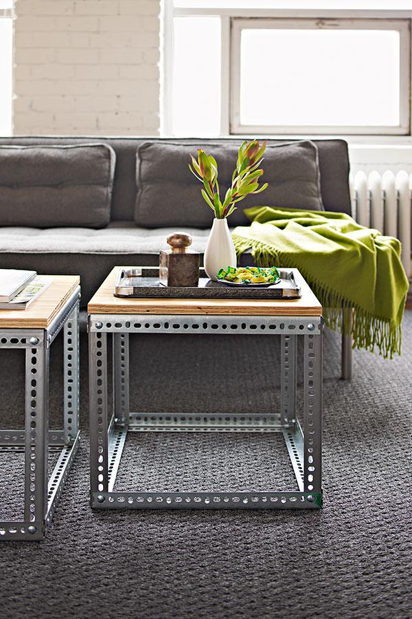 Furniture Diy Industrial. Industrial Side Table Furniture Diy