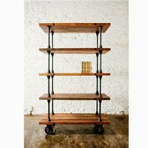 Delightful Inspiration Industrial Shelf, Sawdust 2 Stitches On Remodelaholic
