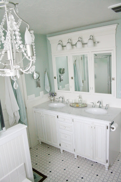 Stunning master bathroom makeover Batchelor us Way