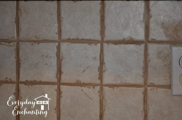 old backsplash, Everyday Enchanting on Remodelaholic