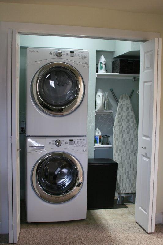 Small Laundry Room Makeover Remodelaholic Bloglovin