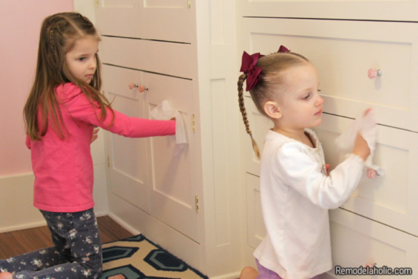 Spring Cleaning With Kids From Remodelaholic