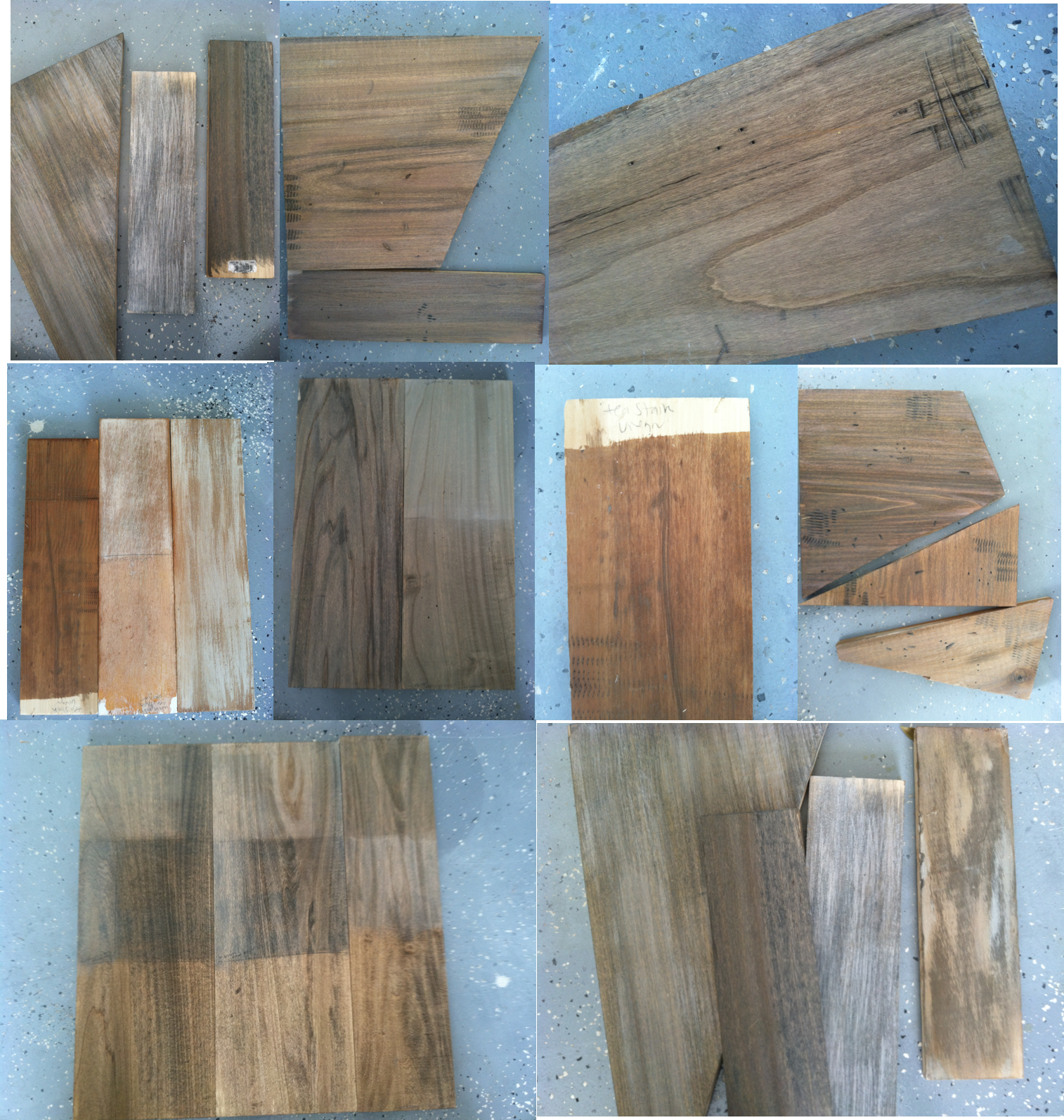 Remodelaholic How To Create Faux Reclaimed Wood Countertops - Reclaimed Wood Stain WB Designs