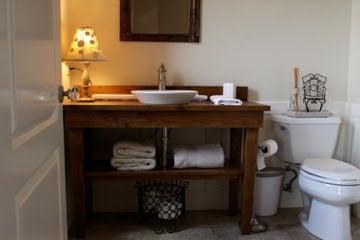 Simple table vanity diy