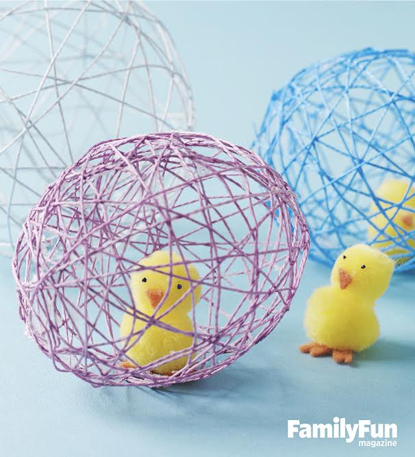 Make Your Own Chick in Egg Easter Craft