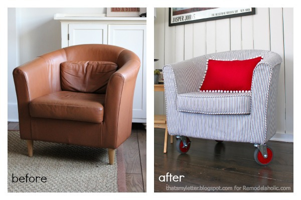 Tub Chair Before And After