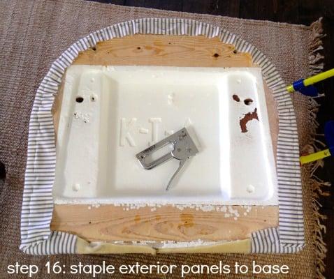 tub chair step 16