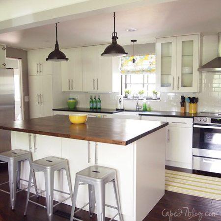 Amazing Amazing us Ranch Kitchen Renovation white ranch kitchen makeover Cape on Remodelaholic