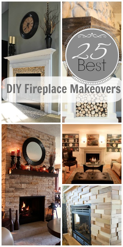 25-best-diy-fireplace-makeovers
