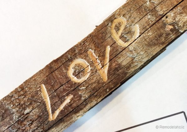 Carvel love sign using a Dremel-14
