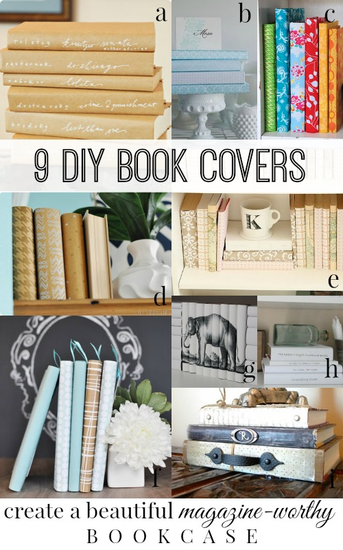 How To Make A Book Cover At Home : The diy home on pinterest bookcases washi tape wall and