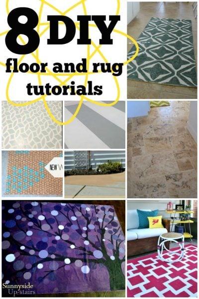 DIY Floor and Rug Tutorials
