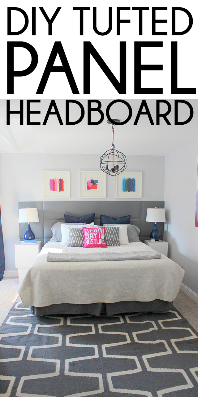 Diy Upholstered Panel Headboard By Kayla And Justin Of Home Coming
