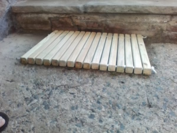 DIY Wooden Mat