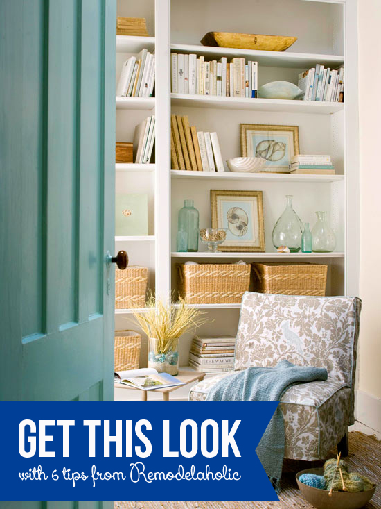 Get This Look Relaxing Reading Nook On Remodelaholic Getthislook Decorate