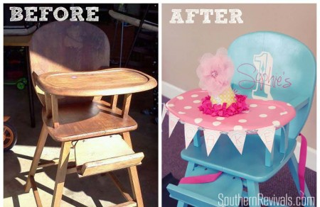 Highchair Before After (1)