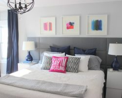 How to Build a Tufted Panel Headboard   Home Coming for Remodelaholic.com