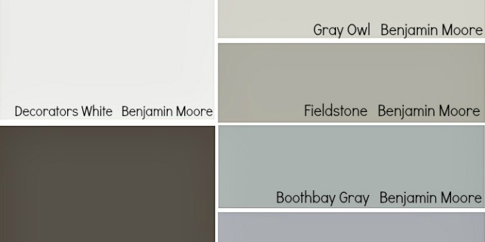 Remodelaholic Trends In Cabinet Paint Colors - Gray paint colors for kitchen walls