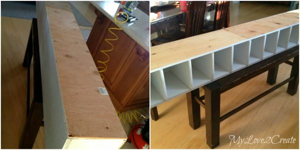 back board for closet shelves, My Love 2 Create on Remodelaholic