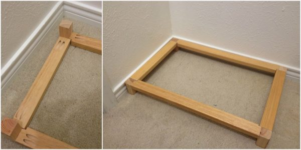 base for bench in master closet makeover, My Love 2 Create on Remodelaholic