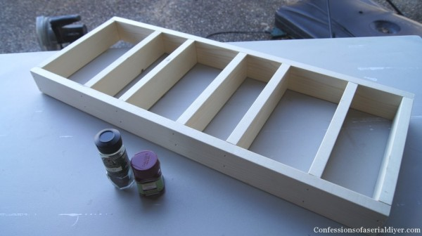 build a custom spice shelf and cabinet, Confessions of a Serial DIYer on Remodelaholic