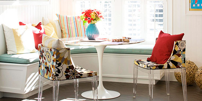 Get This Look: Art Gallery Corner Banquette