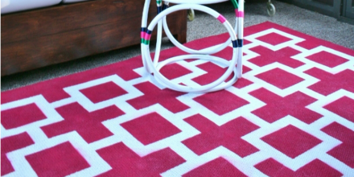 8 DIY Floor & Rug Tutorials + Link Party
