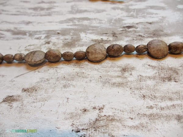 faux wood beads for chandelier, Life on Virginia Street on Remodelaholic